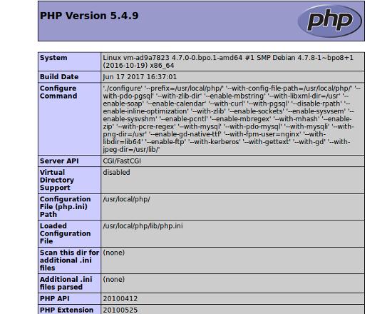 Установка php debian 8